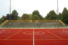 Centro del terreno del deporte Fotografía de archivo