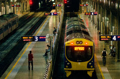 Centro del transporte de Britomart Fotografía de archivo libre de regalías