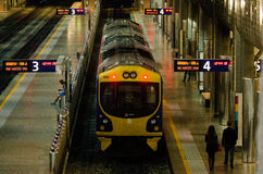 Centro del transporte de Britomart Imagen de archivo