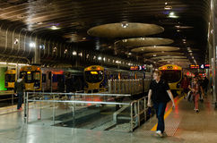 Centro del transporte de Britomart Fotografía de archivo