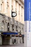 Centro del transporte de Britomart en Auckland - Nueva Zelanda Foto de archivo libre de regalías