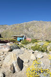 Centro del visitante del barranco de Tahquitz Imagen de archivo libre de regalías