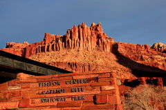 Centro del visitante del parque nacional del filón del capitolio Imagen de archivo