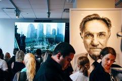 Centro del visitante del punto cero en Manhattan foto de archivo