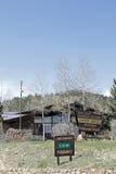 Centro del visitante y estación del guardabosques Foto de archivo libre de regalías