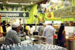 Centro dell'alimento in Kuala Lumpur Fotografia Stock Libera da Diritti