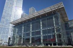 Centro dell'Expo del mondo di Dalian Fotografie Stock