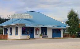 Centro dell'ospite di Territori del Nord Ovest Fotografia Stock