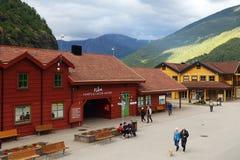 Centro dell'ospite, Flam, Norvegia Immagine Stock Libera da Diritti