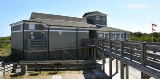 Centro dell'ospite su Fisher State Recreation Area forte fotografia stock