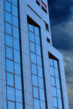 Centro dell'ufficio della costruzione Fotografia Stock Libera da Diritti