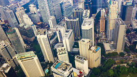 Centro della città di Kuala Lumpur Fotografie Stock