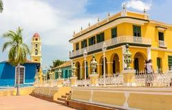 Centro della città di Trinidad Fotografie Stock