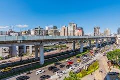 Centro della città della plaza digitale di Guanghua Immagine Stock