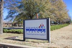 Centro della mano d'opera dell'Arkansas, Memphis ad ovest, Arkansas Immagine Stock