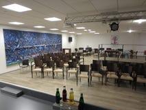 Centro della stampa dell'arena HSV del imtech di Amburgo Immagine Stock Libera da Diritti
