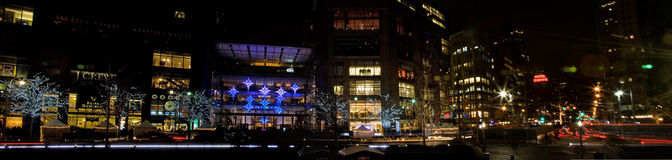 Centro della Time Warner Immagine Stock