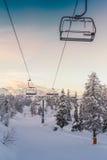 Centro dello sci di Vogel Julian Alps, Slovenia Immagini Stock Libere da Diritti
