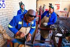 Centro di addestramento professionale di abilità in Africa immagini stock