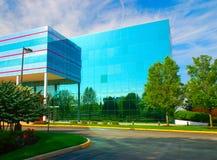 Centro di affari Fotografie Stock