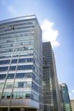 Centro di affari a Bogota Immagini Stock
