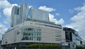 Centro di affari di Francoforte Fotografie Stock
