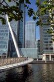 Centro di affari di Londra Fotografia Stock Libera da Diritti