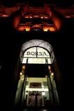 Centro di affari di Milano Fotografie Stock