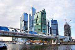 Centro di affari di Mosca. Immagine Stock