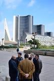 Centro di affari di Napoli Fotografia Stock Libera da Diritti