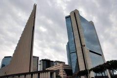 Centro di affari di Napoli Immagini Stock
