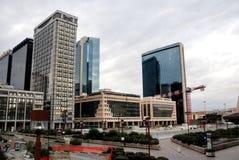 Centro di affari di Napoli Immagine Stock