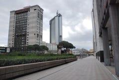 Centro di affari di Napoli Immagini Stock Libere da Diritti
