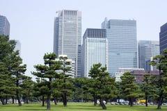 Centro di affari di Tokyo Fotografia Stock Libera da Diritti