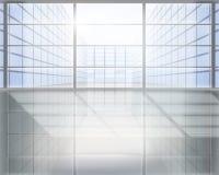 Centro di affari. Illustrazione di vettore. Immagini Stock Libere da Diritti