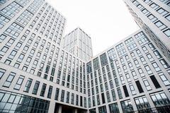 Centro di affari nei nuovi quarti della città Fotografie Stock