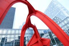 Centro di affari a Parigi Immagini Stock Libere da Diritti