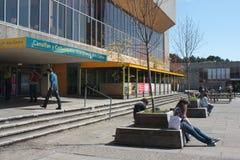 Centro di arte dell'università di Aberystwyth Immagini Stock Libere da Diritti