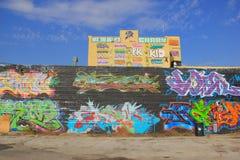 centro di arti dell'aerosol 5Pointz Fotografia Stock Libera da Diritti
