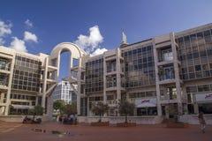 Centro di arti dello spettacolo il 24 novembre 2012 a Tel Aviv, Israele Fotografia Stock Libera da Diritti