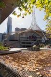 Centro di arti a Melbourne, Australia immagine stock