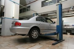 centro di Automobile-cura Fotografia Stock Libera da Diritti