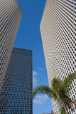 Centro di Azrieli dei grattacieli Immagini Stock