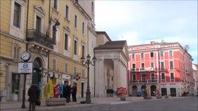Centro di Campobasso della cittadina di Molise video d archivio