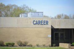 Centro di carriera per gli studenti Fotografia Stock