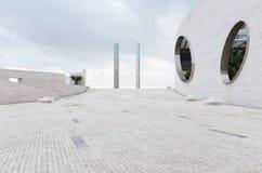Centro di Champalimaud per lo sconosciuto a Lisbona, Portogallo fotografie stock libere da diritti