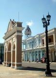 Centro di Cienfuegos Fotografia Stock Libera da Diritti