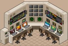 Centro di controllo Immagine Stock Libera da Diritti
