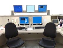 Centro di controllo Fotografia Stock