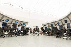 Centro di controllo di autorità di servizi del traffico aereo fotografie stock libere da diritti